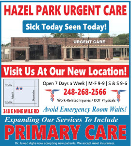 Hazel Park Urgent Care - Immediate Medical Care and Health Care